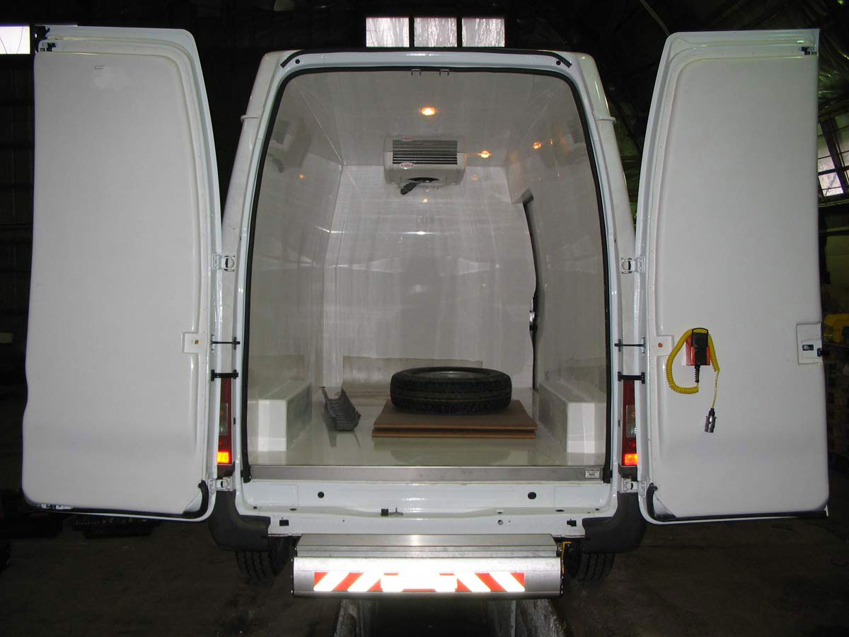 Modular Insulation Panels Are Designed For Vans Such As